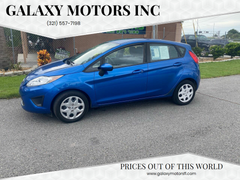 2011 Ford Fiesta for sale at Galaxy Motors Inc in Melbourne FL