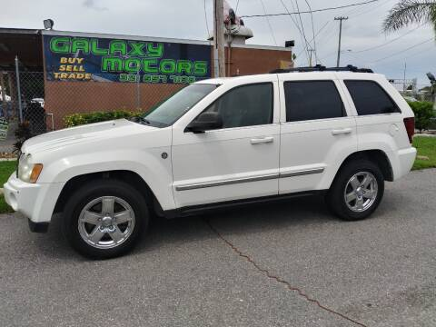 2005 Jeep Grand Cherokee for sale at Galaxy Motors Inc in Melbourne FL