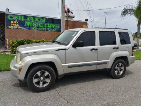 2008 Jeep Liberty for sale at Galaxy Motors Inc in Melbourne FL