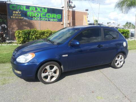 2007 Hyundai Accent for sale at Galaxy Motors Inc in Melbourne FL