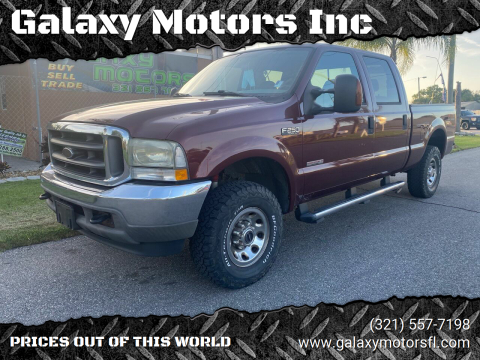 2004 Ford F-250 Super Duty for sale at Galaxy Motors Inc in Melbourne FL