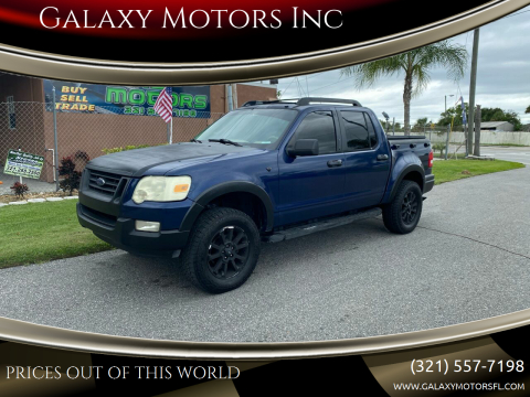 2007 Ford Explorer Sport Trac for sale at Galaxy Motors Inc in Melbourne FL