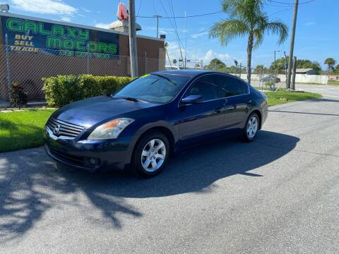 2009 Nissan Altima for sale at Galaxy Motors Inc in Melbourne FL