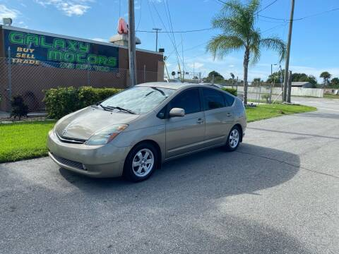 2008 Toyota Prius for sale at Galaxy Motors Inc in Melbourne FL