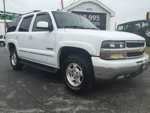2003 Chevrolet Tahoe for sale in Evansville, IN