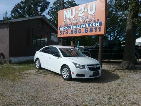 2011 Chevrolet Cruze for sale in Sullivan, MO