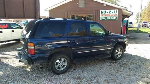2003 Chevrolet Tahoe for sale in Sullivan, MO