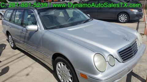 2002 Mercedes-Benz E-Class for sale in Houston, TX