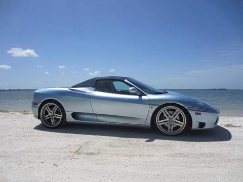 2003 Ferrari 360 Spider for sale in Pompano Beach, FL