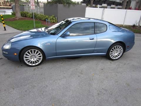 2002 Maserati GranTurismo For Sale In Pompano Beach FL