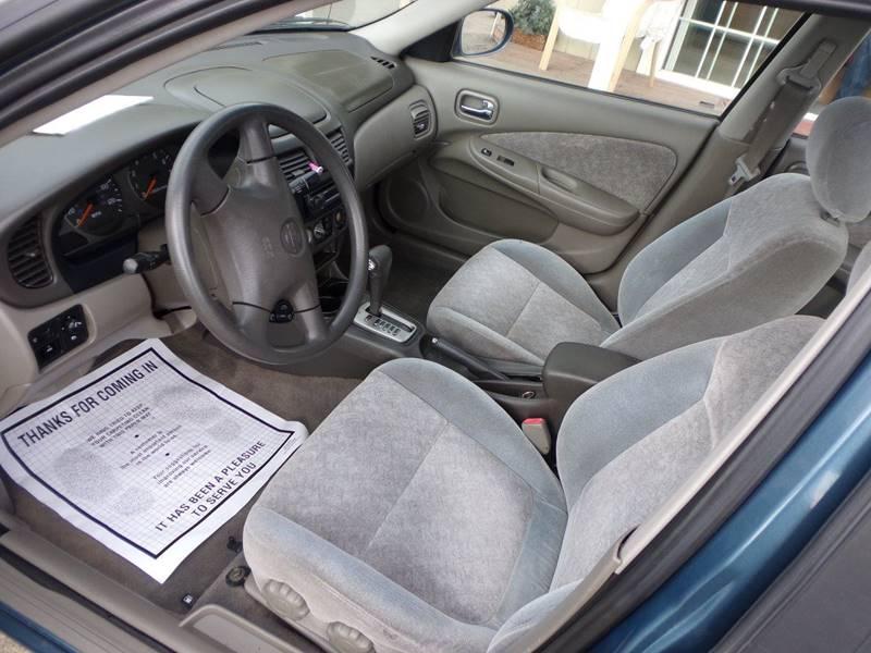 2001 Nissan Sentra GXE 4dr Sedan   Lakeport CA
