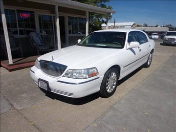 2007 Lincoln Town Car for sale in Lakeport, CA