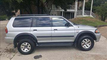 2001 Mitsubishi Montero Sport for sale in Fort Worth, TX