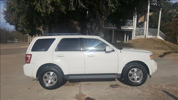 2011 Ford Escape for sale in Fort Worth, TX
