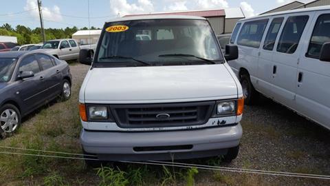 2003 Ford E-Series Wagon for sale in Eunice, LA