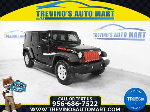 2011 Jeep Wrangler Unlimited for sale in Mcallen, TX