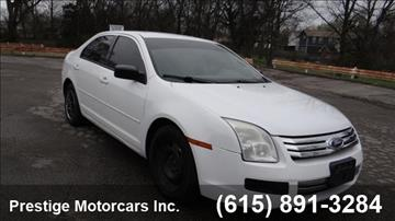 2007 Ford Fusion for sale in Nashville, TN