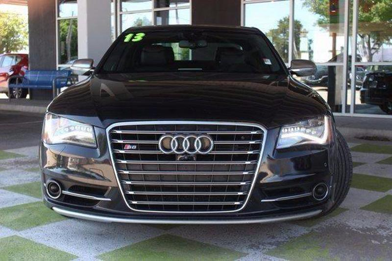 2013 Audi S8 for sale at Car Club USA in Hollywood FL