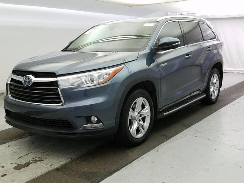 2015 Toyota Highlander Hybrid for sale at Car Club USA in Hollywood FL