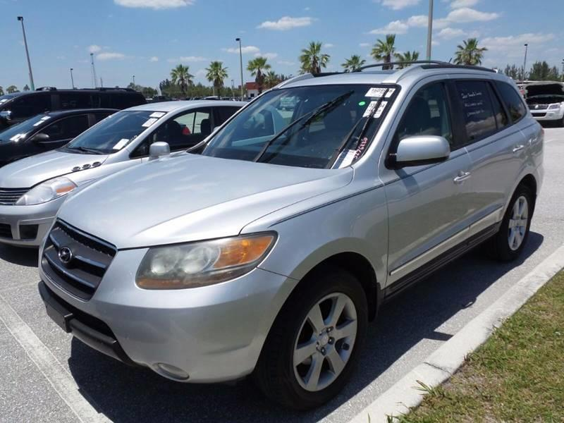 2007 Hyundai Santa Fe for sale at Car Club USA in Hollywood FL