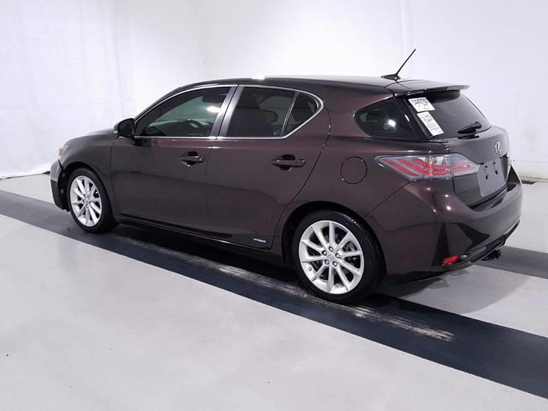 2012 Lexus CT 200h for sale at Car Club USA in Hollywood FL