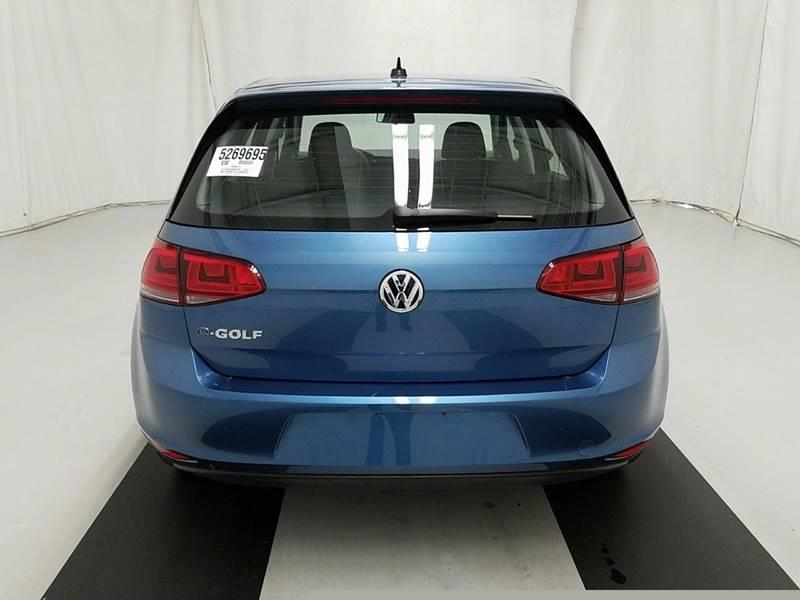 2016 Volkswagen e-Golf for sale at Car Club USA - Hybrid Vehicles in Hollywood FL