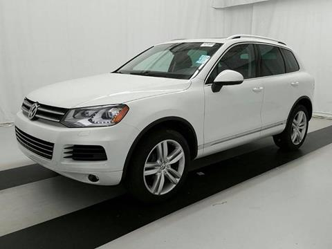 2014 Volkswagen Touareg for sale in Hollywood, FL