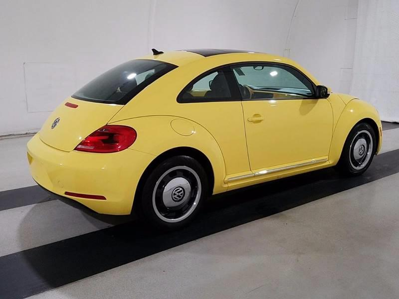 2012 Volkswagen Beetle for sale at Car Club USA in Hollywood FL