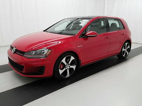 2016 Volkswagen Golf GTI for sale at Car Club USA in Hollywood FL
