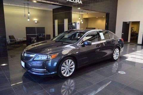 2016 Acura RLX for sale at Car Club USA in Hollywood FL