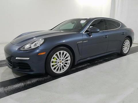 2015 porsche panamera for sale in hollywood fl