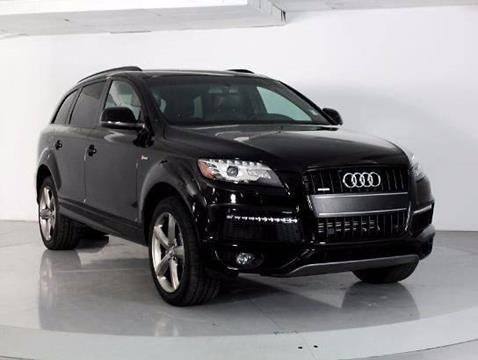 2015 Audi Q7 for sale at Car Club USA in Hollywood FL