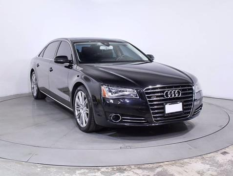 2013 Audi A8 L for sale at Car Club USA in Hollywood FL