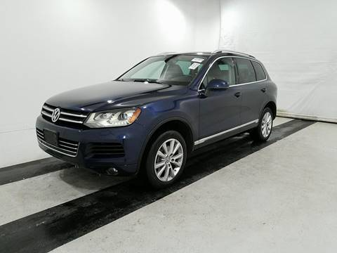 2014 Volkswagen Touareg for sale in Cooper City, FL