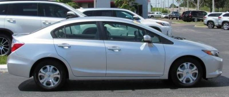 2012 Honda Civic For Sale At Car Club USA   Hybrid Vehicles In Hollywood FL