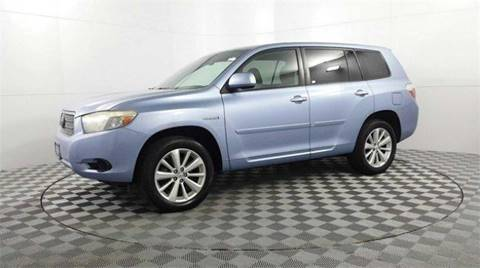 2008 Toyota Highlander Hybrid For Sale In Hollywood, FL