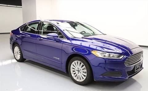 2013 Ford Fusion Hybrid for sale at Car Club USA - Hybrid Vehicles in Hollywood FL