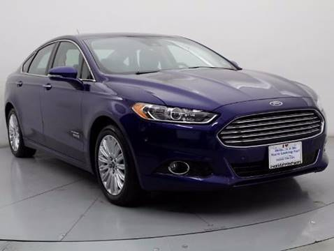 2013 Ford Fusion Energi for sale at Car Club USA - Hybrid Vehicles in Hollywood FL