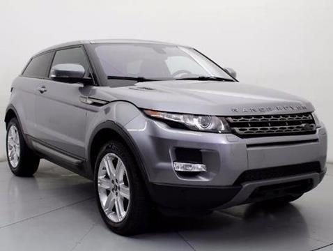 Land Rover Range Rover Evoque Coupe For Sale  Carsforsalecom