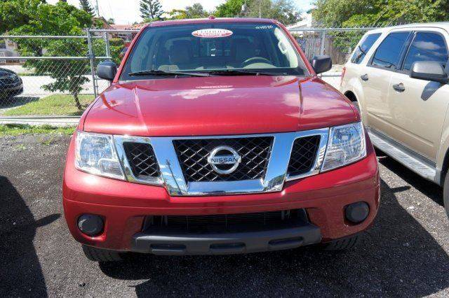 2015 Nissan Frontier for sale at Car Club USA in Hollywood FL