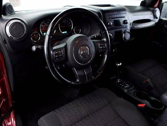 2012 Jeep Wrangler for sale at Car Club USA in Hollywood FL
