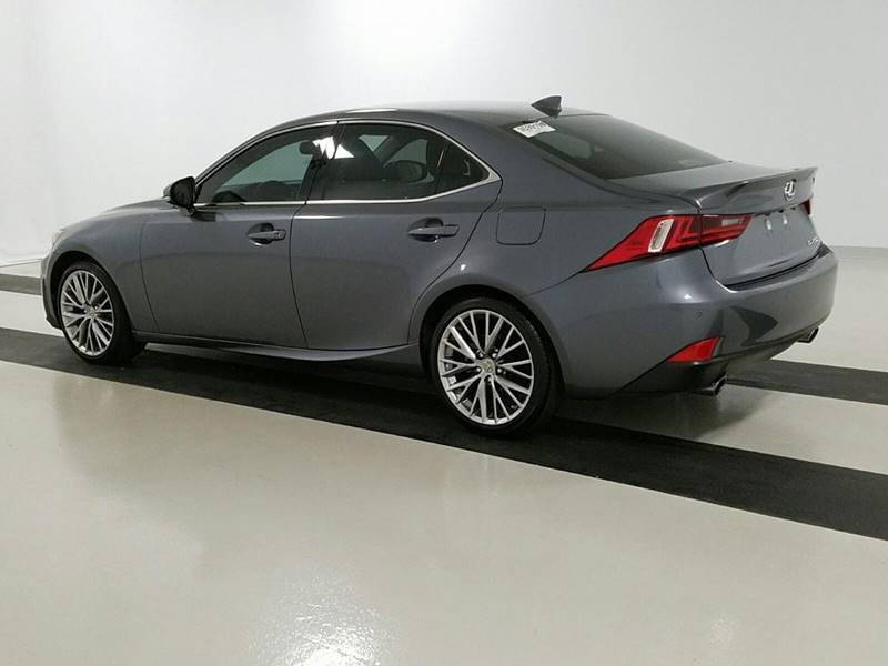 2015 Lexus IS 250 for sale at Car Club USA in Hollywood FL