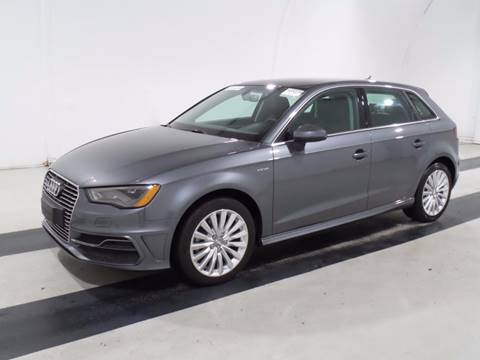 2016 Audi A3 Sportback e-tron for sale at Car Club USA - Hybrid Vehicles in Hollywood FL