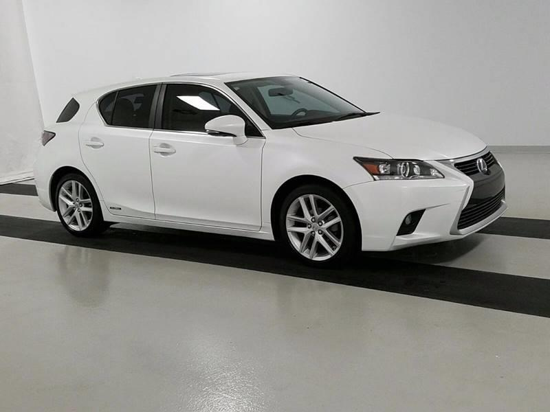2015 Lexus CT 200h for sale at Car Club USA - Hybrid Vehicles in Hollywood FL