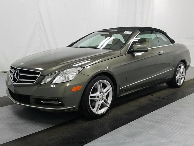 2013 Mercedes-Benz E-Class for sale at Car Club USA in Hollywood FL