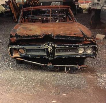 1968 Pontiac GTO For Sale  Carsforsalecom