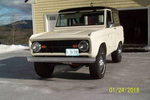 1972 Ford Bronco For Sale - Carsforsale.com