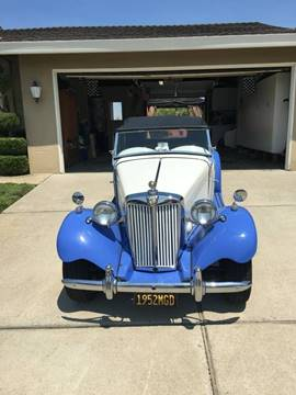 1952 MG TD for sale in Long Island, NY