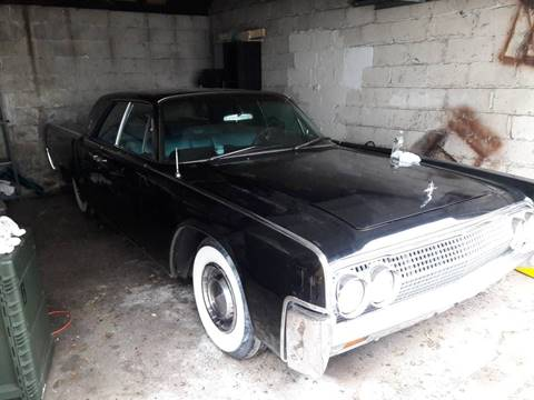 1963 Lincoln Continental For Sale Carsforsale Com