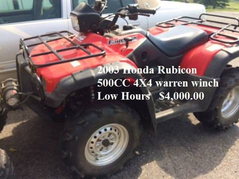 2003 Honda Forman Rubicon
